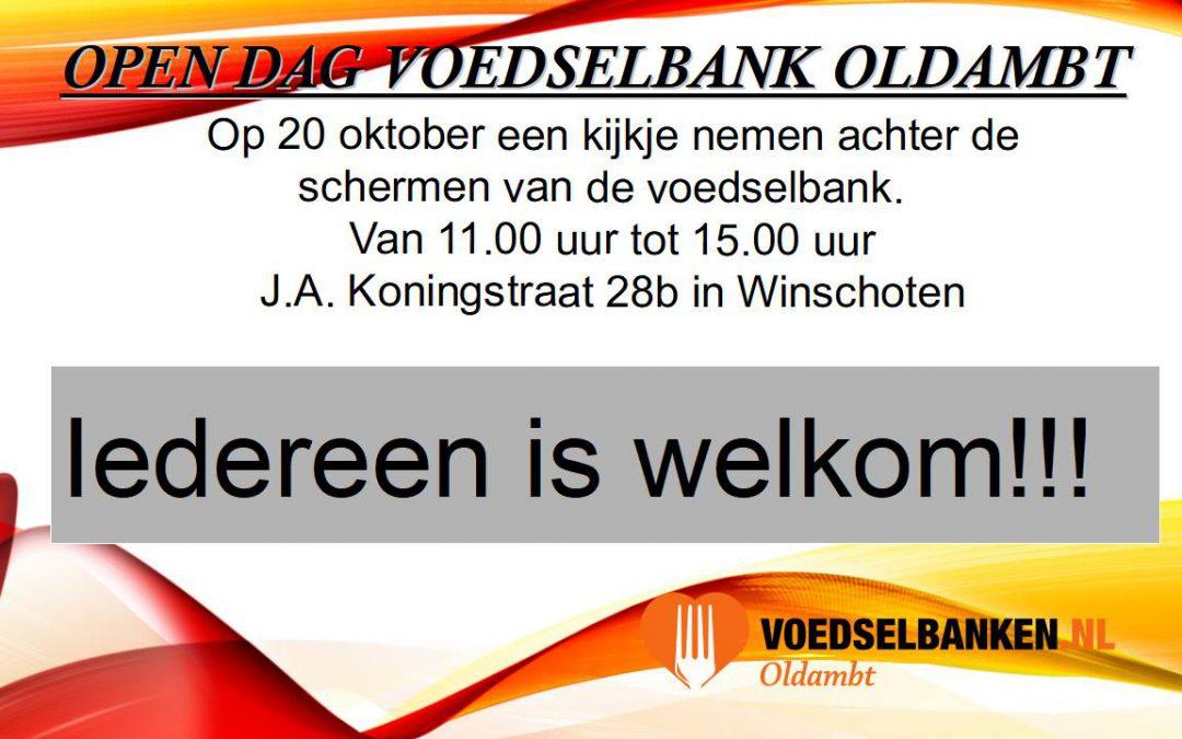 Open dag Voedselbank Oldambt