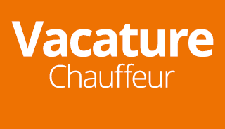 Vacature Chauffeur m/v
